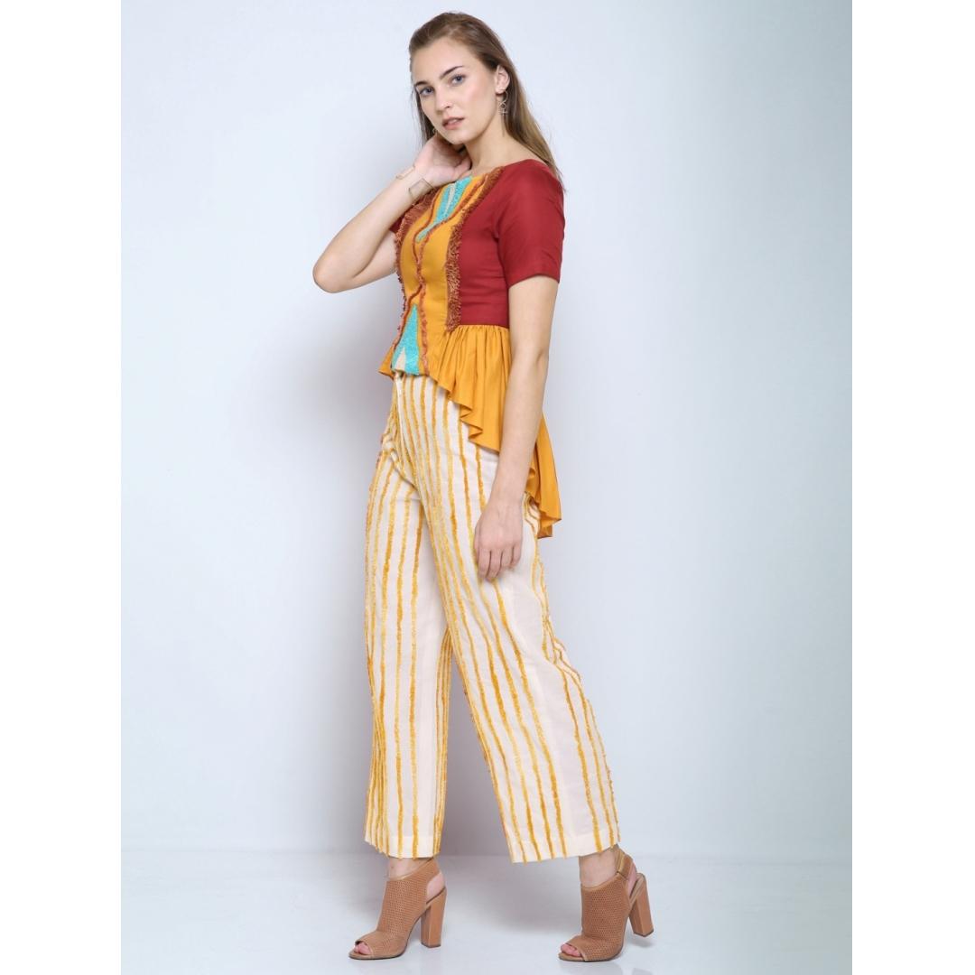 Kilim striped pants