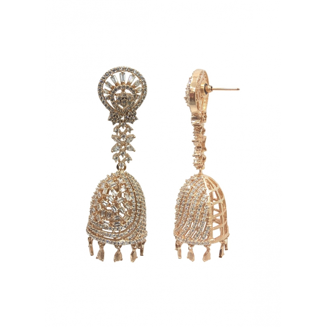 Sidrah Rose Gold Earrings