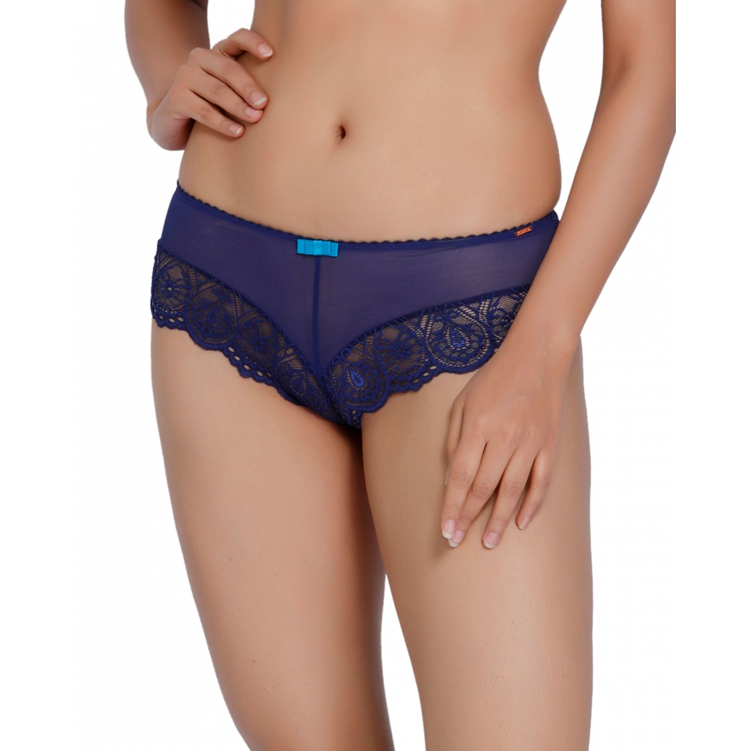 Modest Peacock-PEACOCK LACE SHORTY