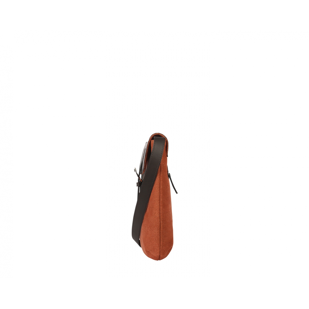 Osier Cross Body - Rust