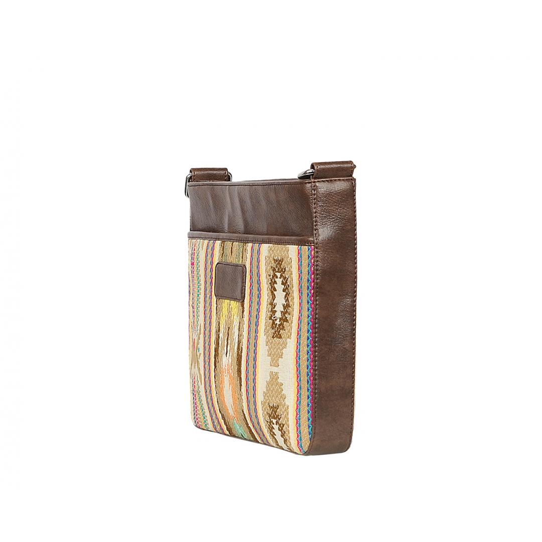 Bradlaugh Brown Messenger Bag