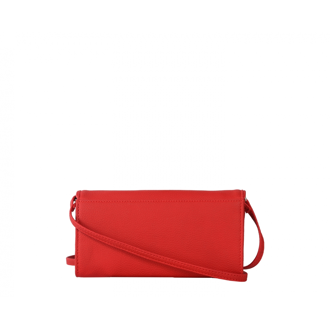 Crimson Red Norland Clutch