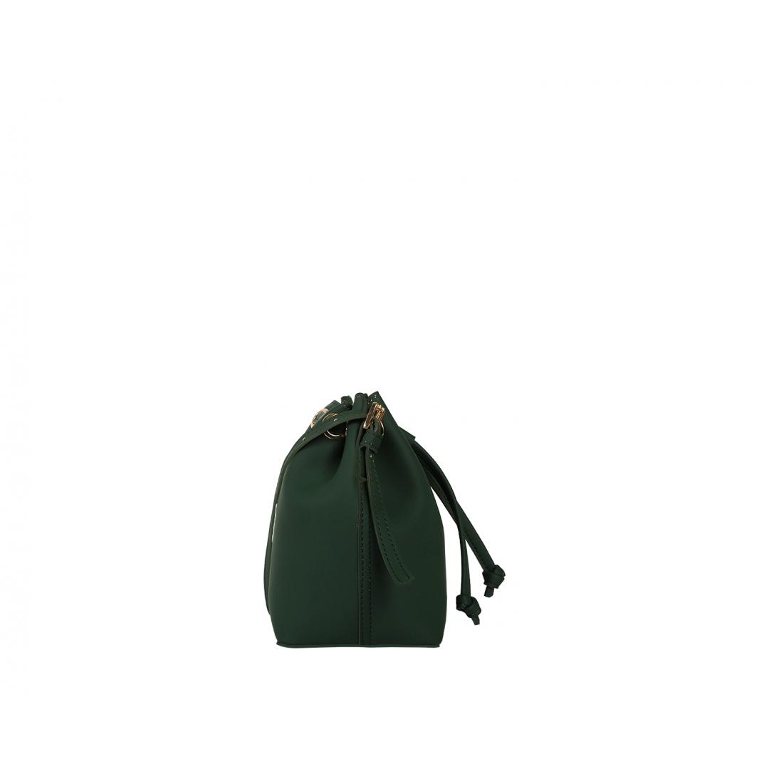 Penny  Bucket Bag - Green