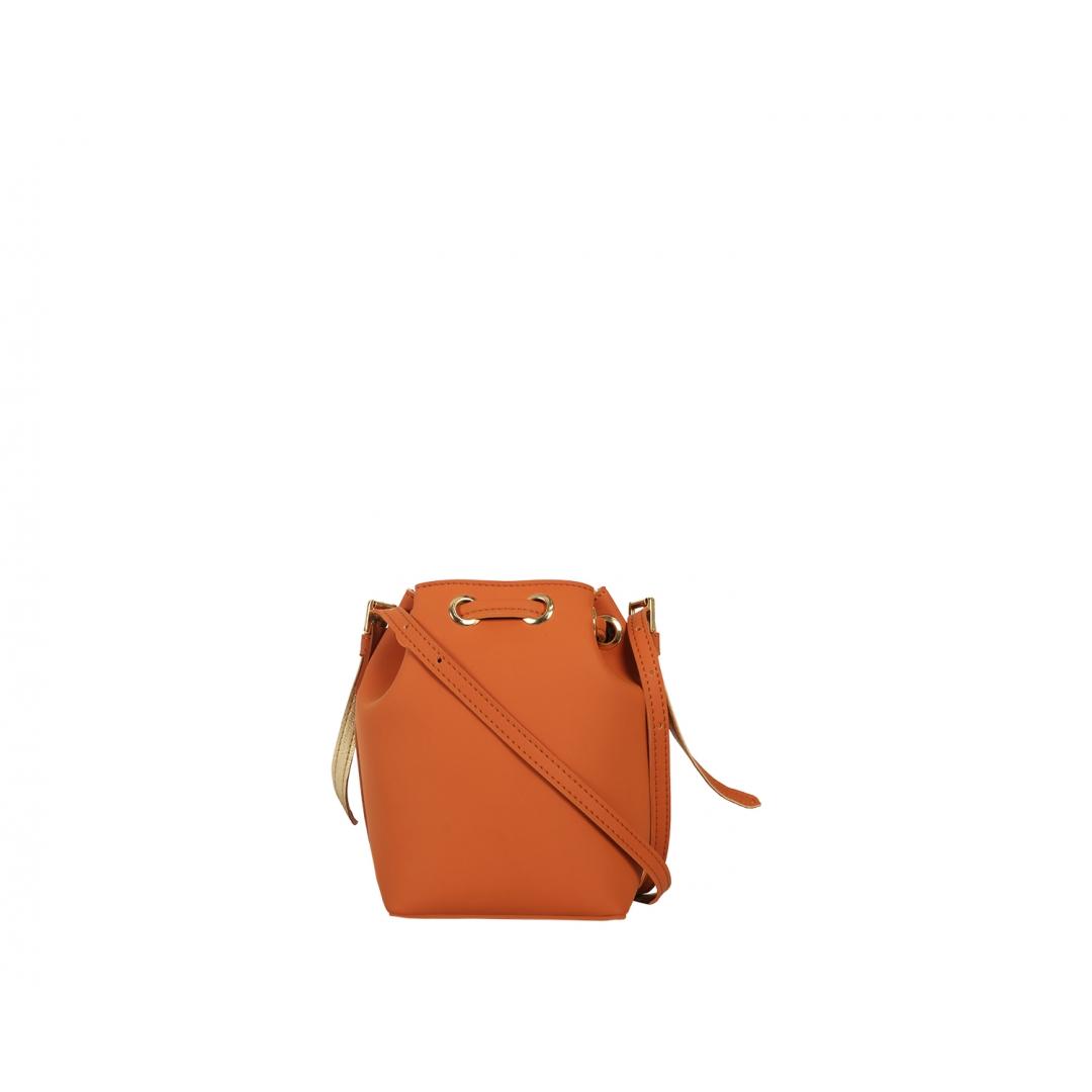 Penny Bucket Bag - Bricks