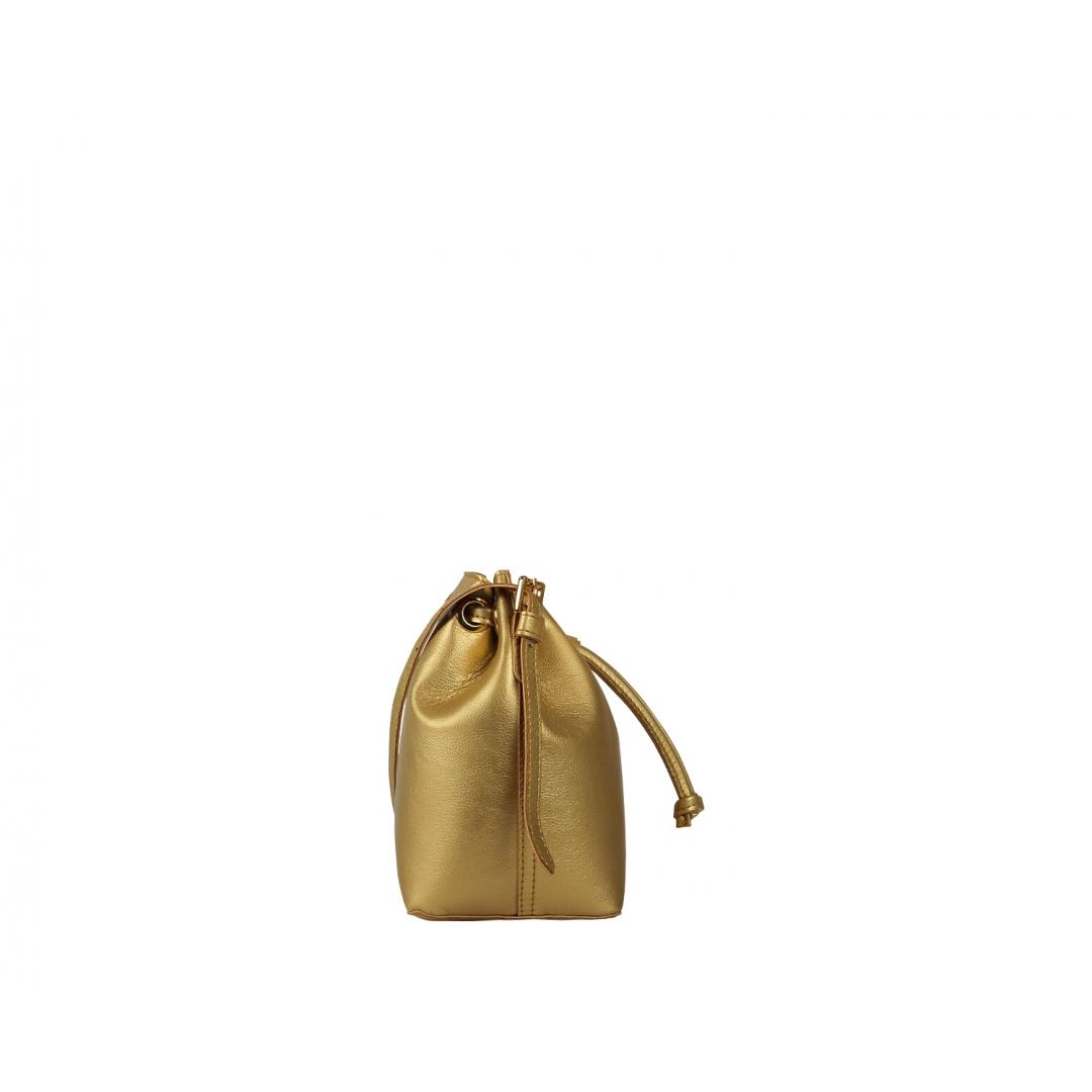 Penny Bucket Bag - Gold
