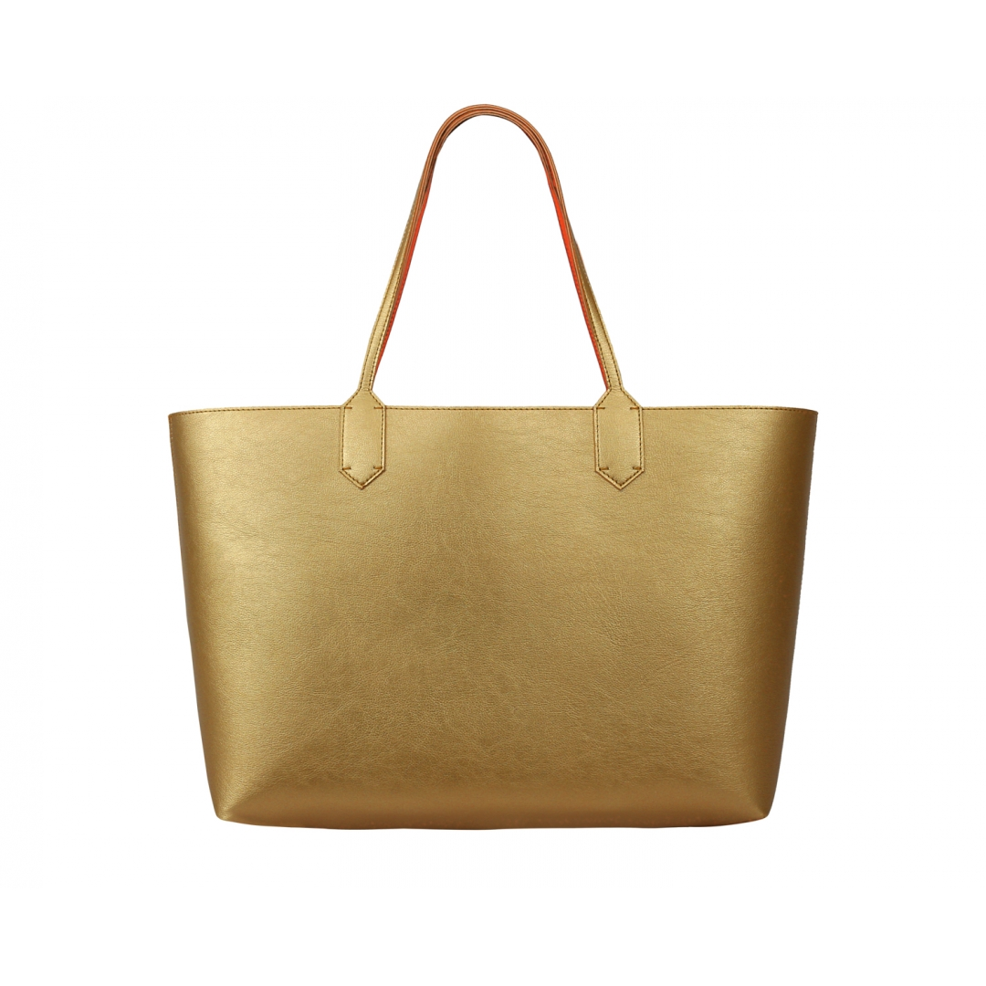 Reversy Large Tote Bag - Gold