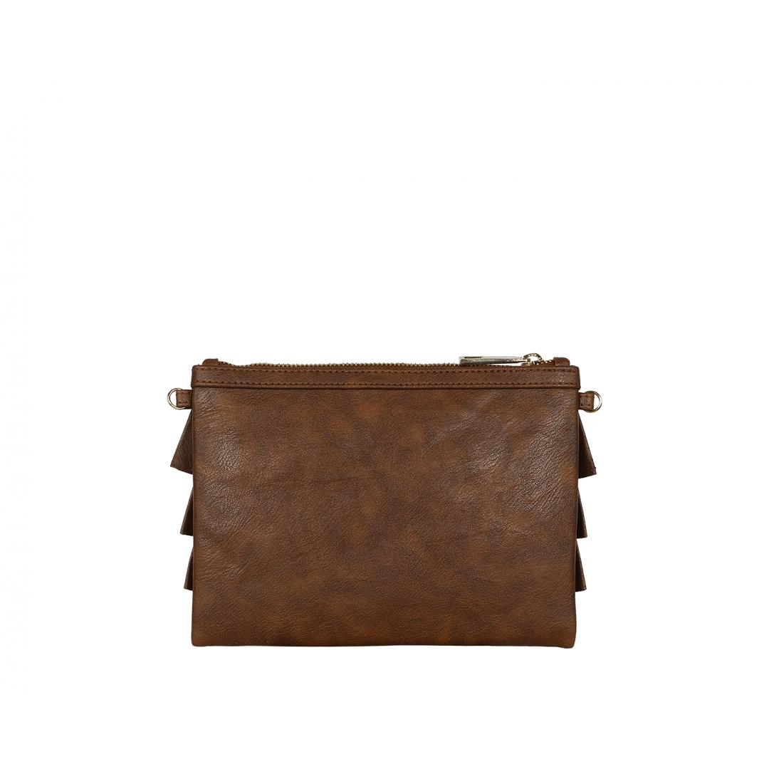Bruffle Crossbody Bag - Clay