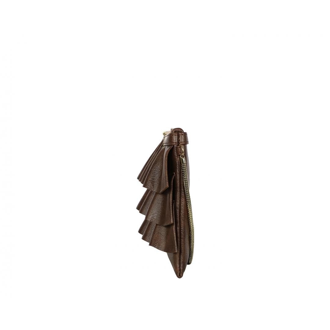 Bruffle Crossbody Bag - Coffee