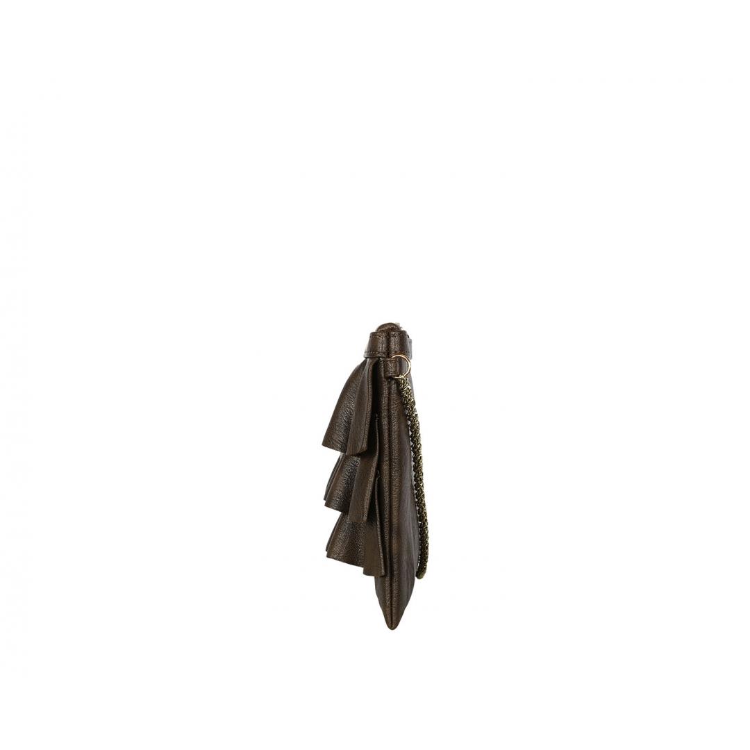 Bruffle Crossbody Bag - Mocha