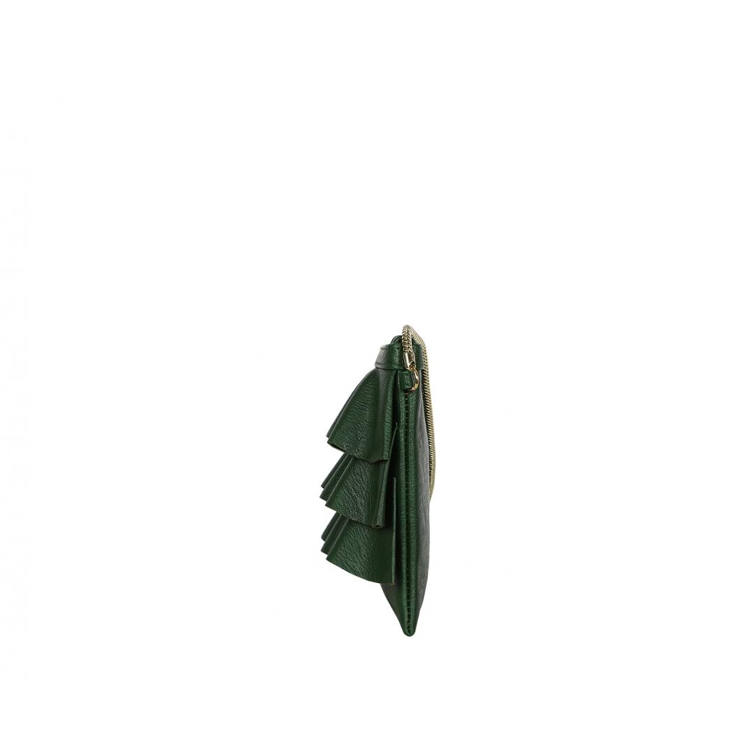 Bruffle Crossbody Bag - Peacock