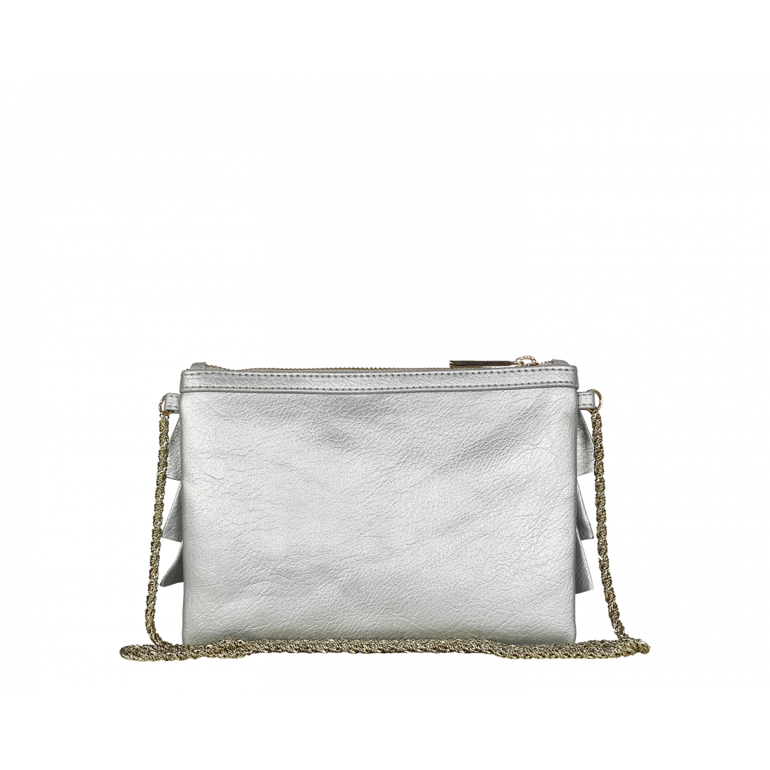 Bruffle Crossbody Bag - Metal