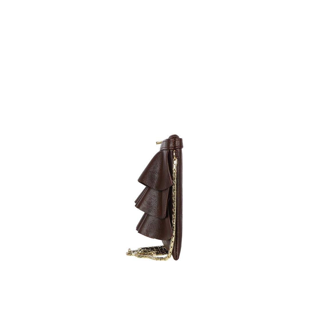 Bruffle Crossbody Bag - Wine