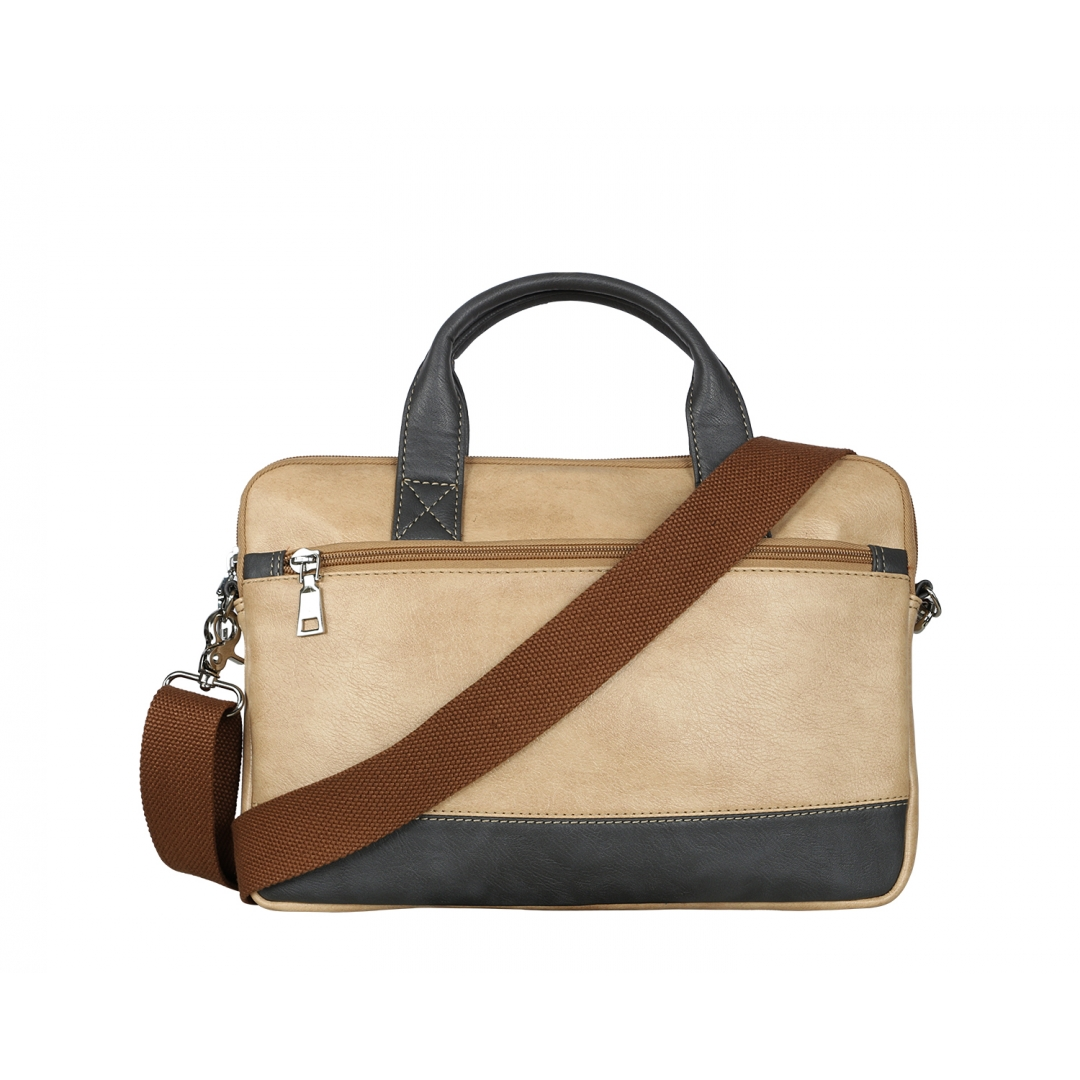 Peanut Ash Gough Laptop Bag