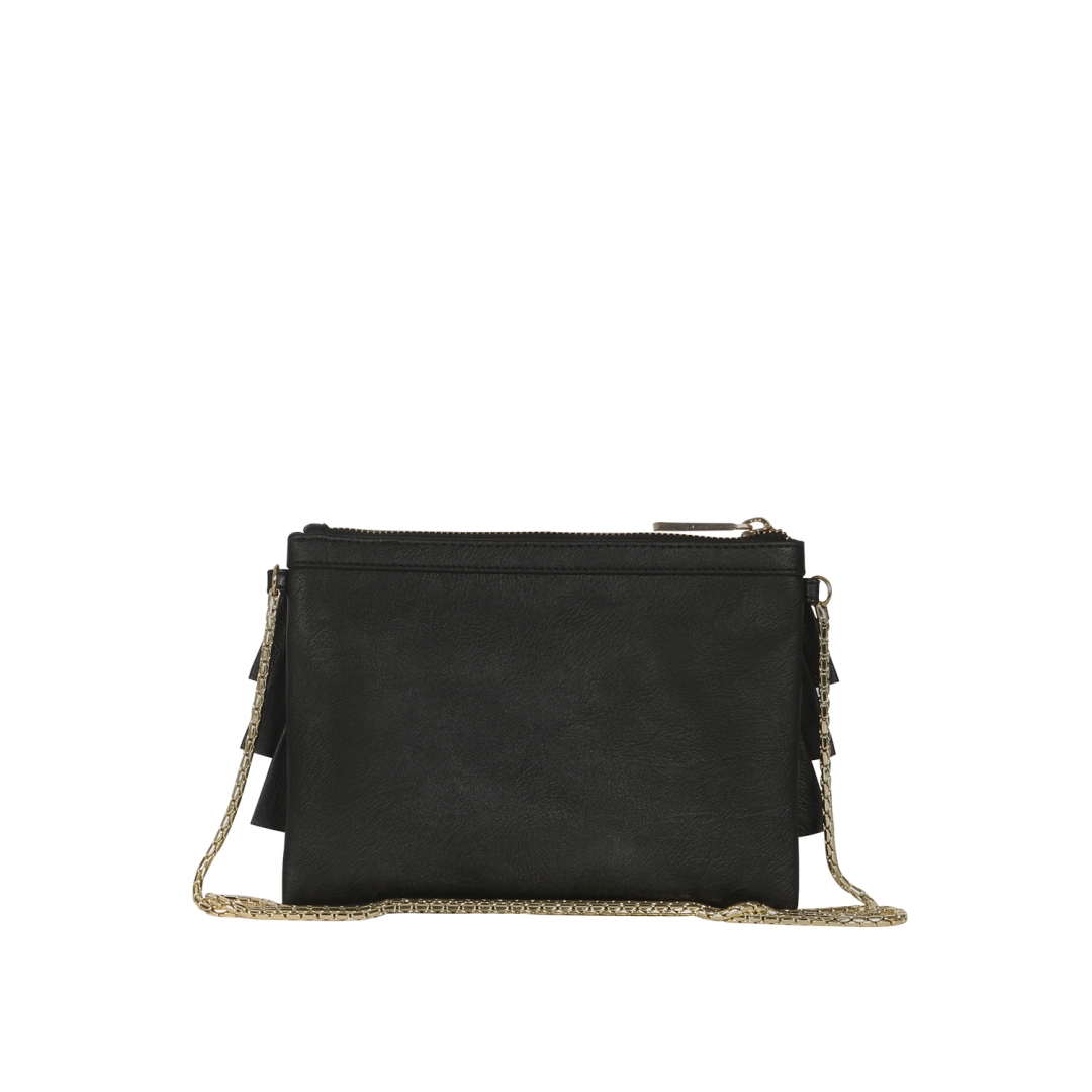 Bruffle Crossbody Bag - Jet Black