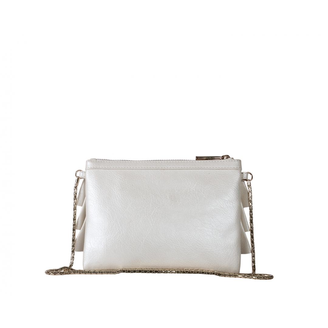 Bruffle Crossbody Bag - Pearl