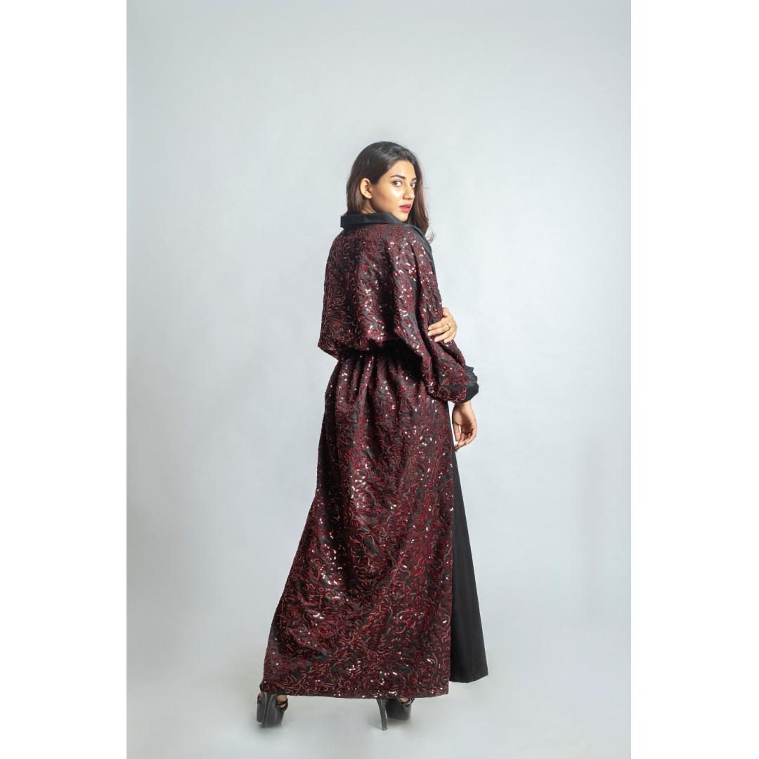 Kimono Style Puffy Dress