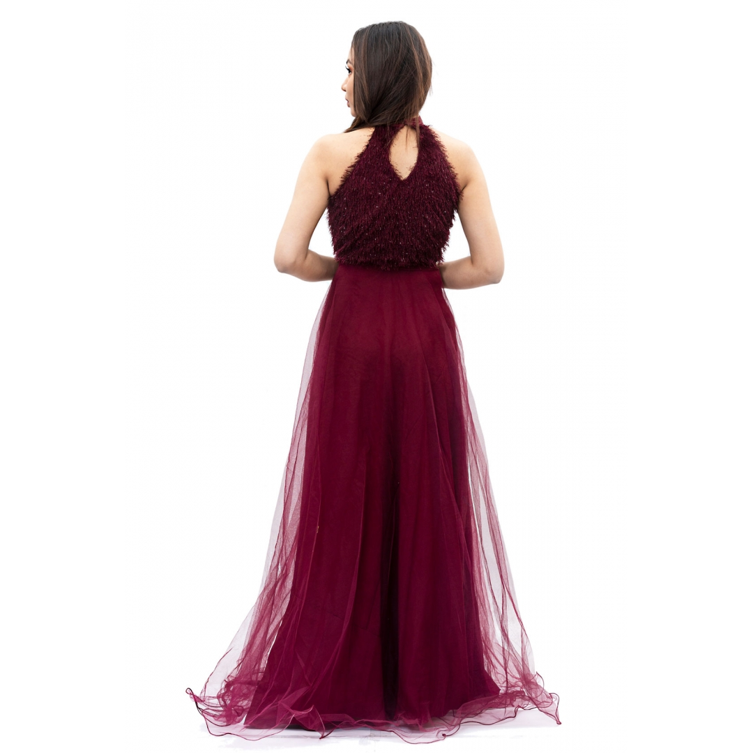 Wine-Red-Long-Gown