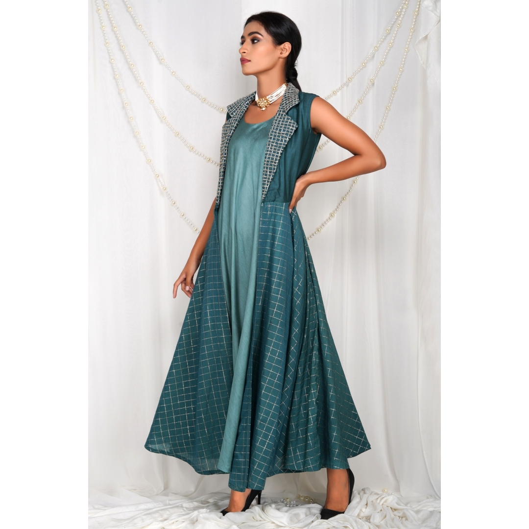 Dori Anarkali Dress