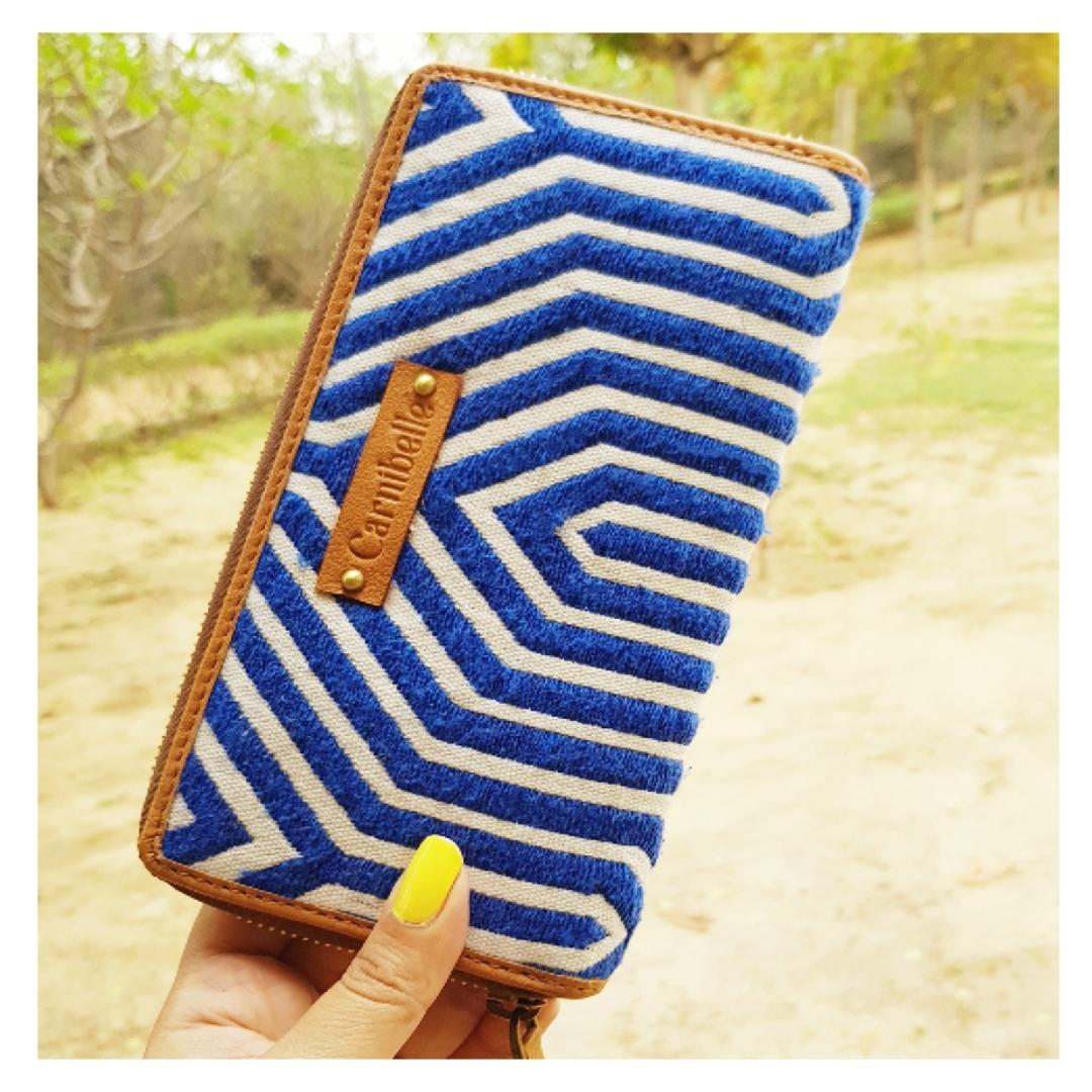 ELLA Wallet - Blue