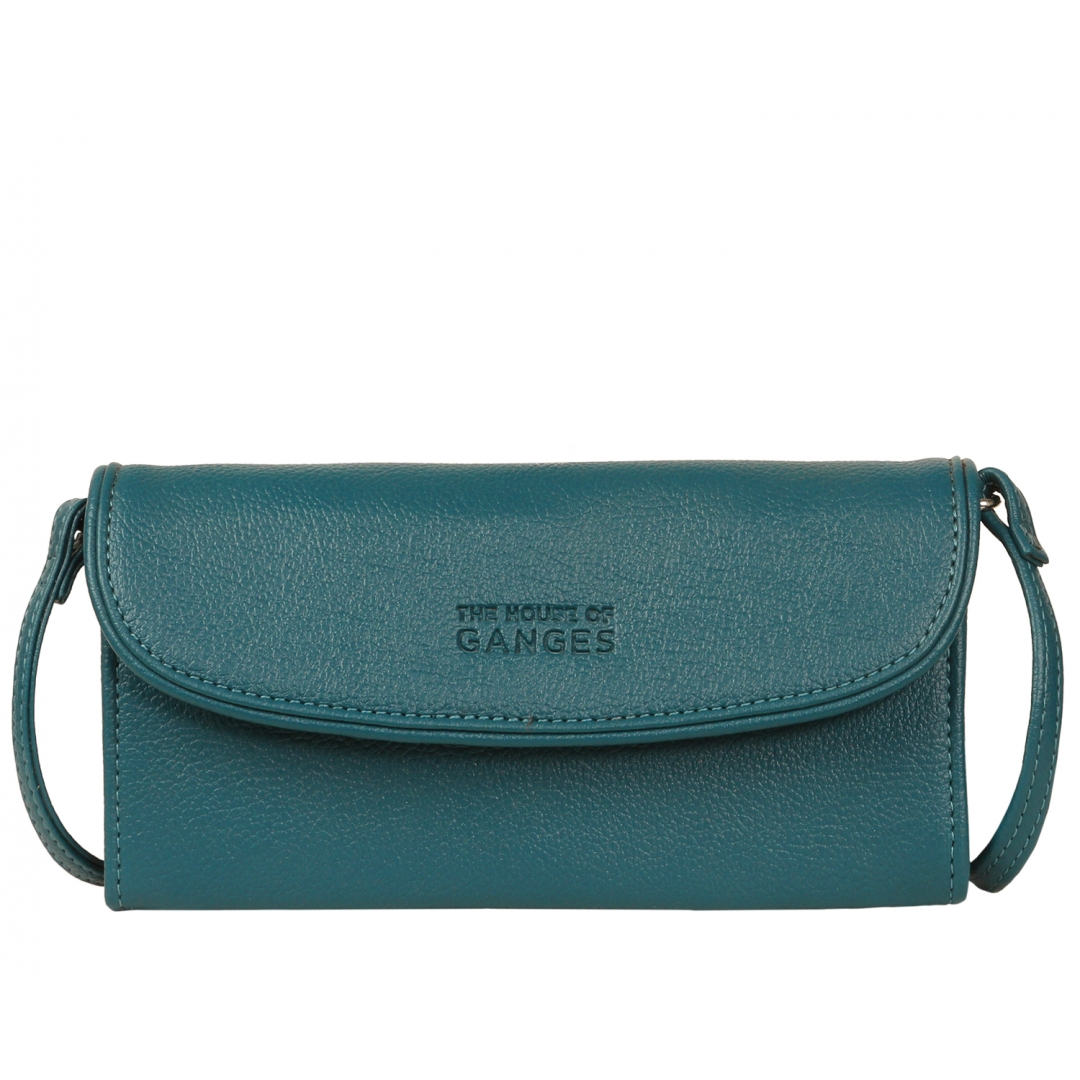 norland clutch - aquamarine