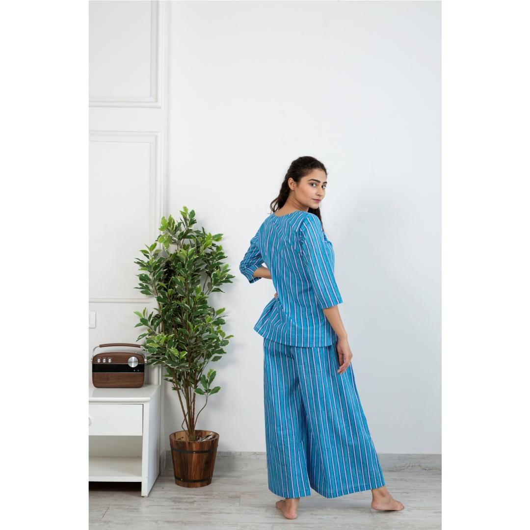 Neeli Dhari Loungewear Set