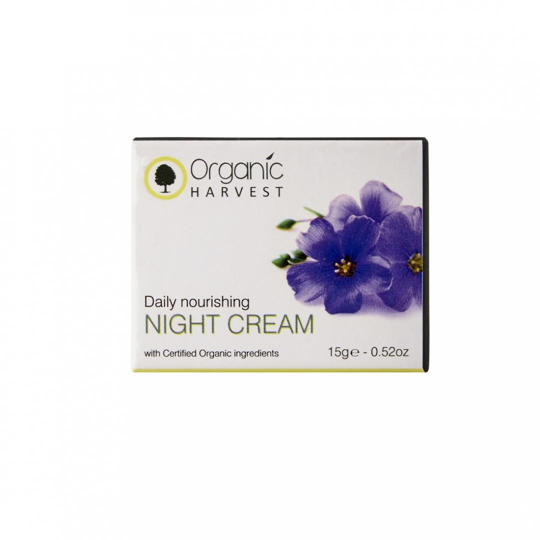 Organic Harvest Daily Nourishing Night Cream, 15gm