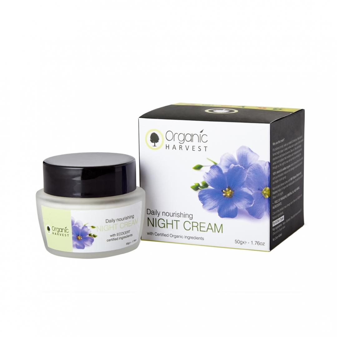Organic Harvest Daily Nourishing Night Cream, 50gm