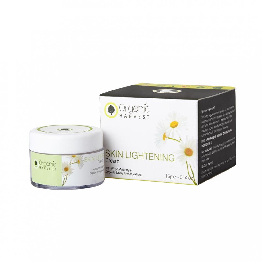 Organic Harvest Skin Lightening Cream, 15gm