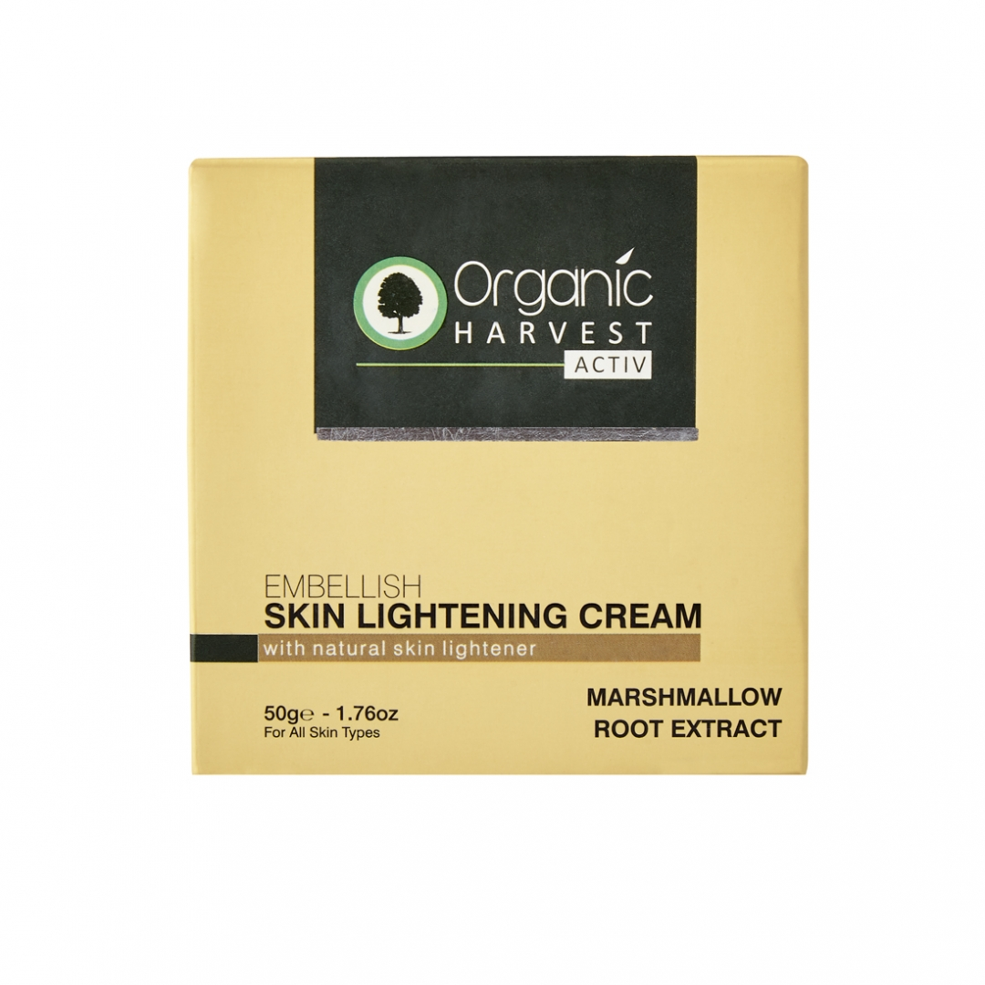 Organic Harvest Activ Range Skin Lightning Cream, 50gm