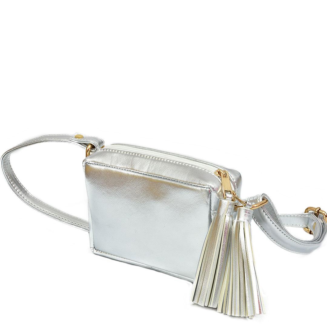 Metallic fringe sling