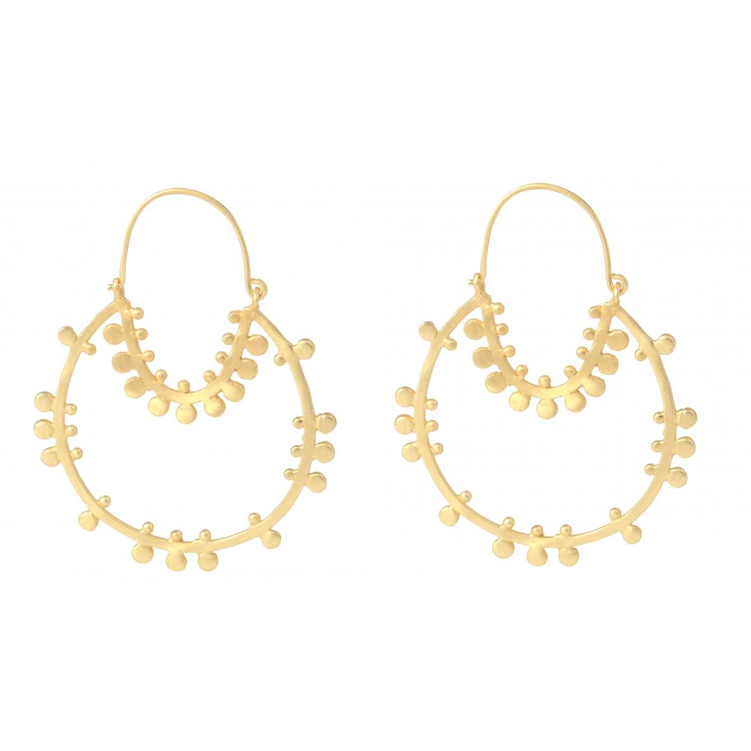 belsis statement gold earrings 2