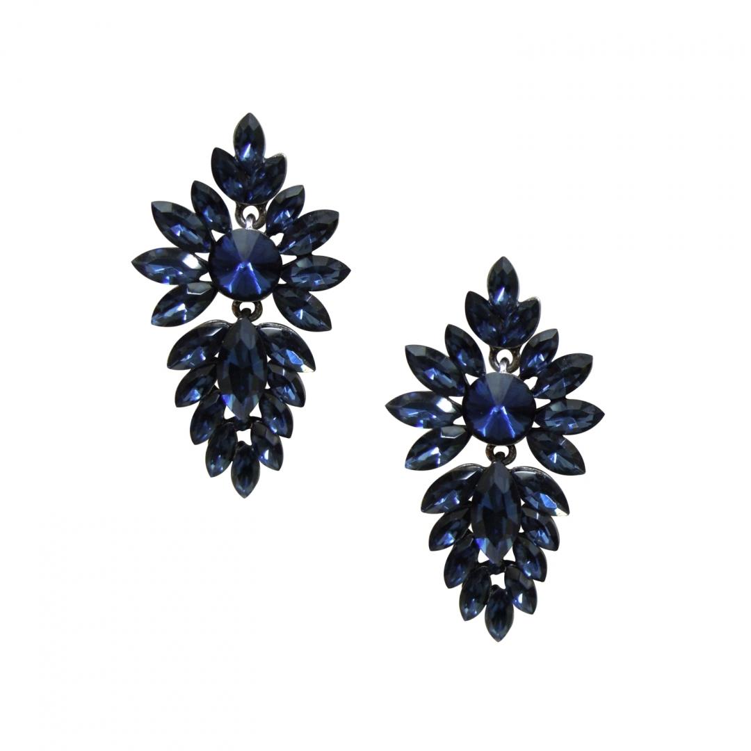 Midnight Crystal Earrings