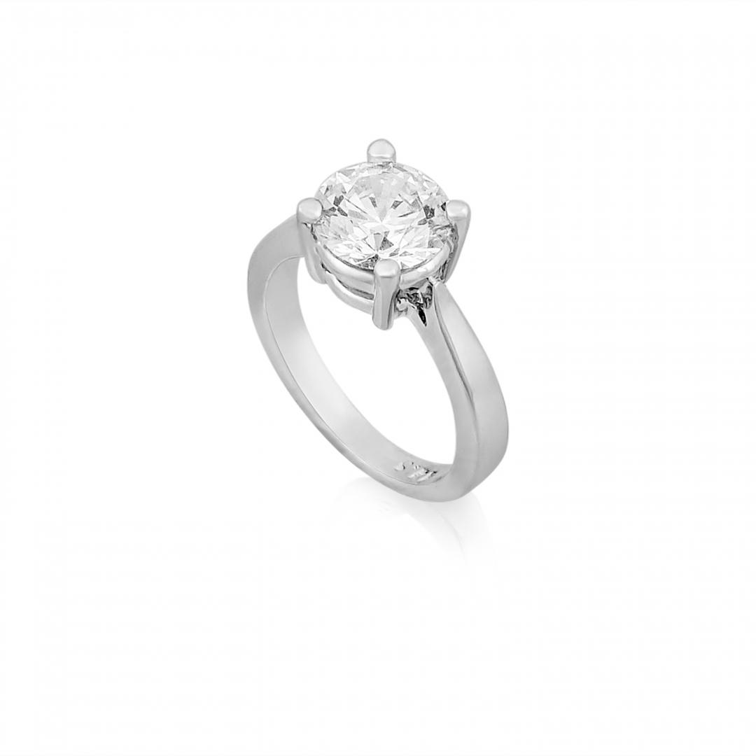 1 Carat Round Solitare Ring
