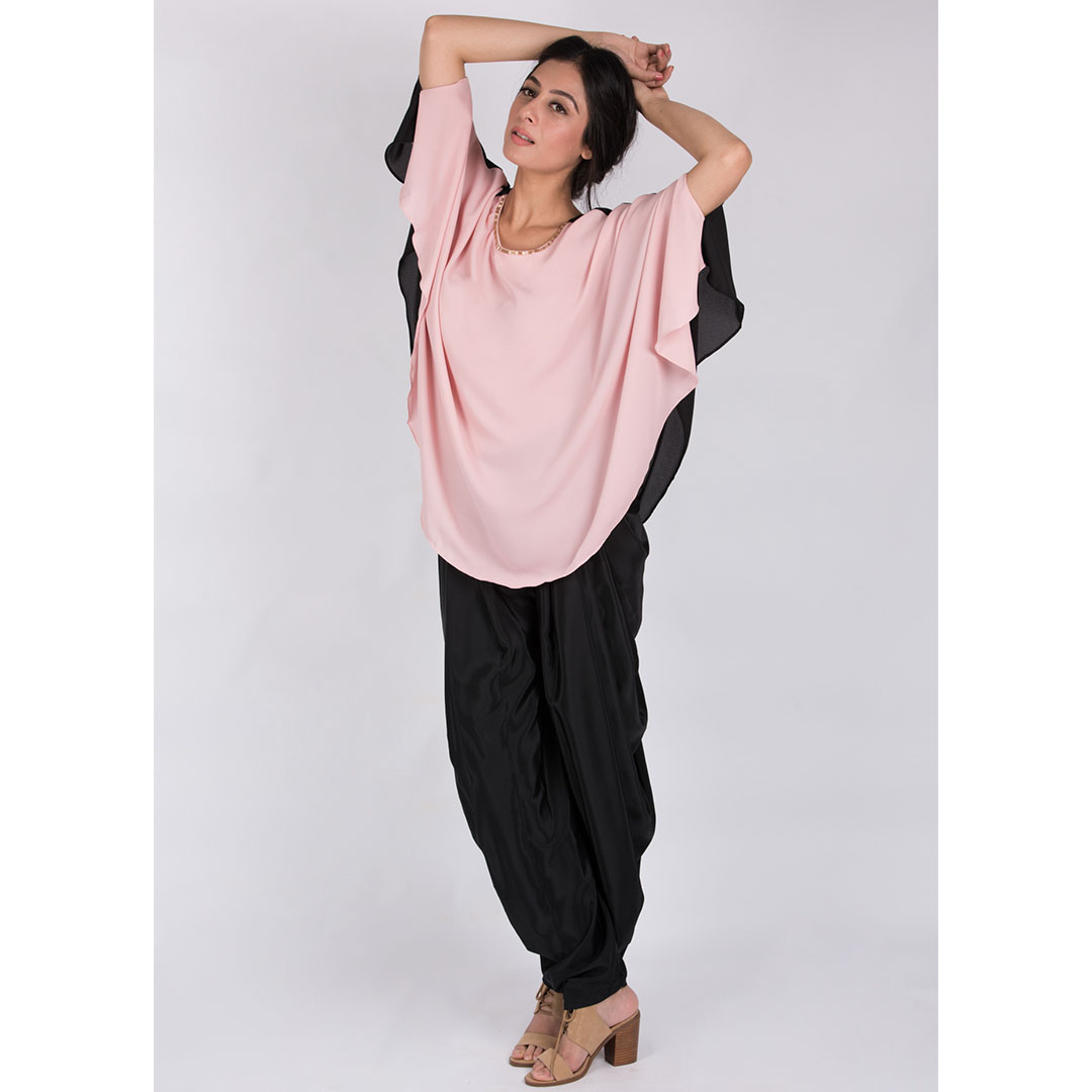 Free Size Top And Dhoti Pants 2