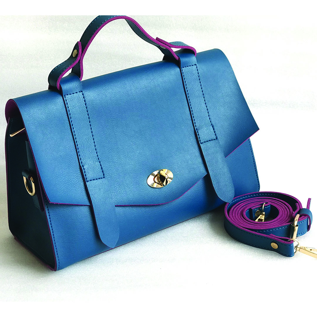 The Ofice Satchel(Teal)