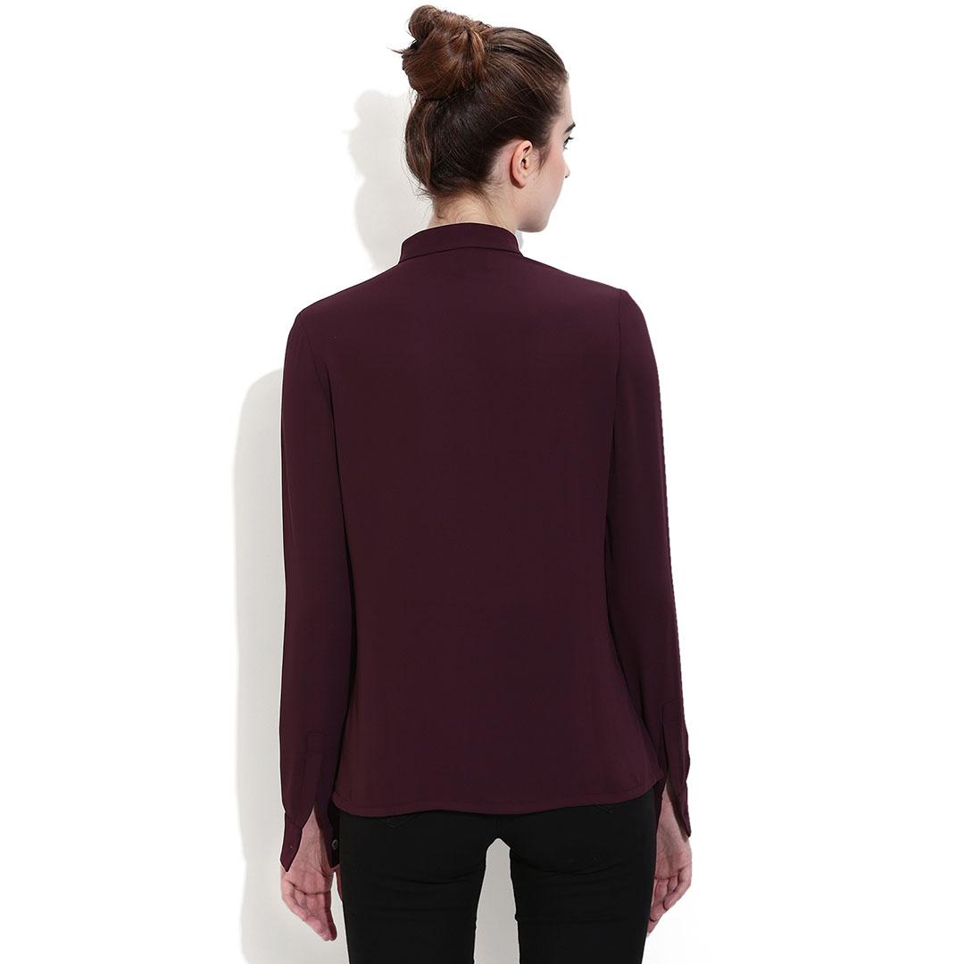 Portia Aubergine Shirt