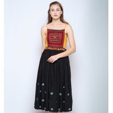 Sandikli maxi dress