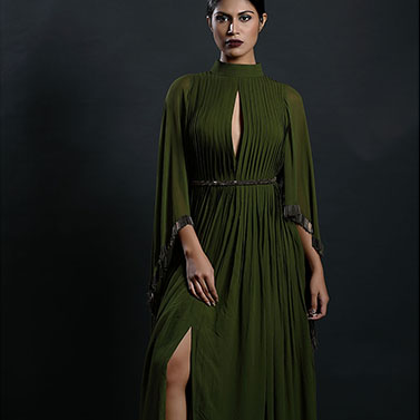 Cartidge Pleated Dress