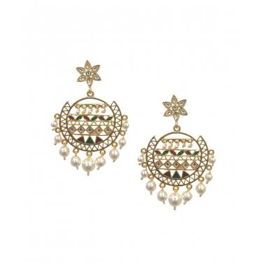 Sera Multi Pearl Earrings