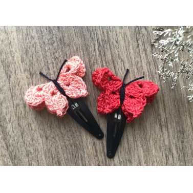 Butterfly Snap Clip - Set of 2 - Combo A