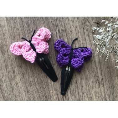 Butterfly Snap Clip - Set of 2 -Combo B