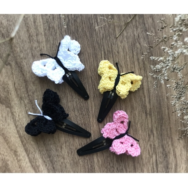 Butterfly Snap Clip - Set of 4 - Combo C