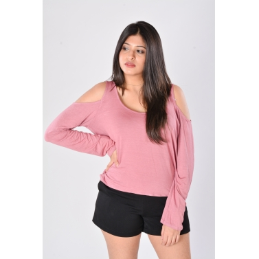 pink Knit Top1