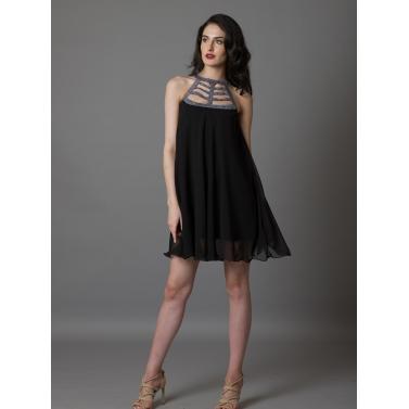 Eyelet It Go Swing Dress