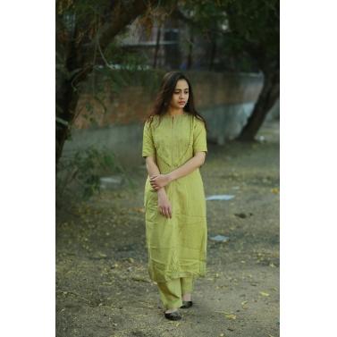 Khadi Silk 2pc dress