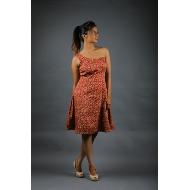 designer-womens-wear/brocade-silk-one-side-shoulder-dress