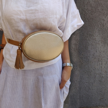 Dusty Gold waist Pouch