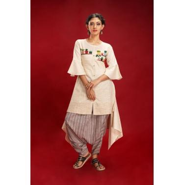 designer-womens-wear/kavish-beige-kurta-herums