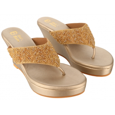 designer-womens-wear/gold-embroidery-v-wedge