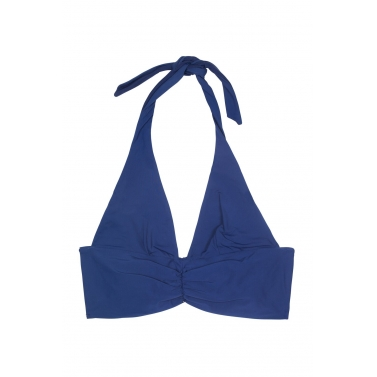 Sand in My Shoes-TRIANGLE BIKINI TOP: BLUE